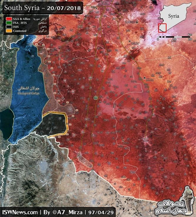 IS tấn công lớn ở Daraa, Nga càn quét yểm trợ cho quân đội Syria diệt khủng bố ảnh 1