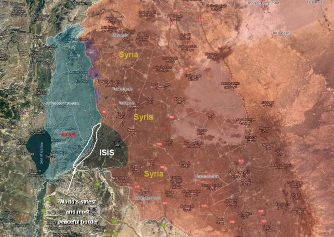 Quân đội Syria giải phóng 36 cứ địa ở Quneitra, phe thánh chiến đầu hàng nộp 9 xe tăng ảnh 1