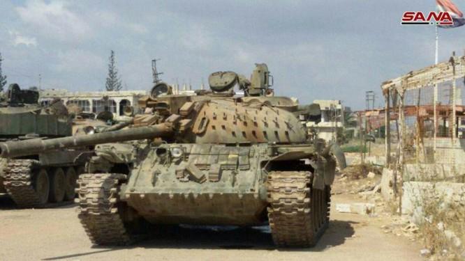 Quân đội Syria chiếm hàng loạt xe tăng thiết giáp phe thánh chiến tại Daraa ảnh 2