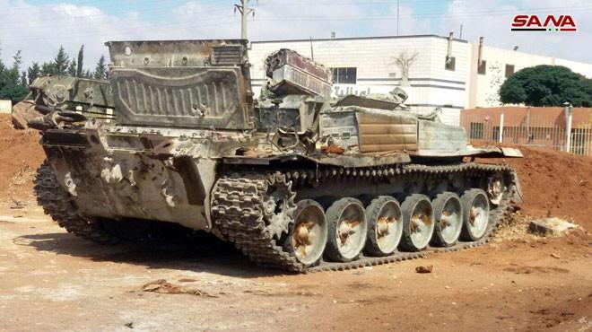 Quân đội Syria chiếm hàng loạt xe tăng thiết giáp phe thánh chiến tại Daraa ảnh 4