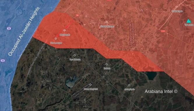 Quân đội Syria khai hỏa giáng đòn vào IS tử thủ Daraa ảnh 1