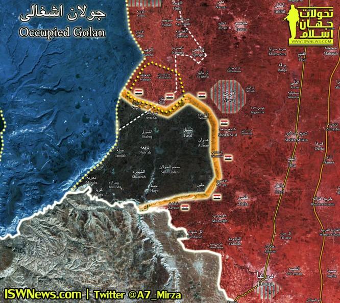"""Nga dội lửa càn quét, """"Hổ Syria"""" xung trận chiếm hàng loạt cứ địa IS ảnh 1"""
