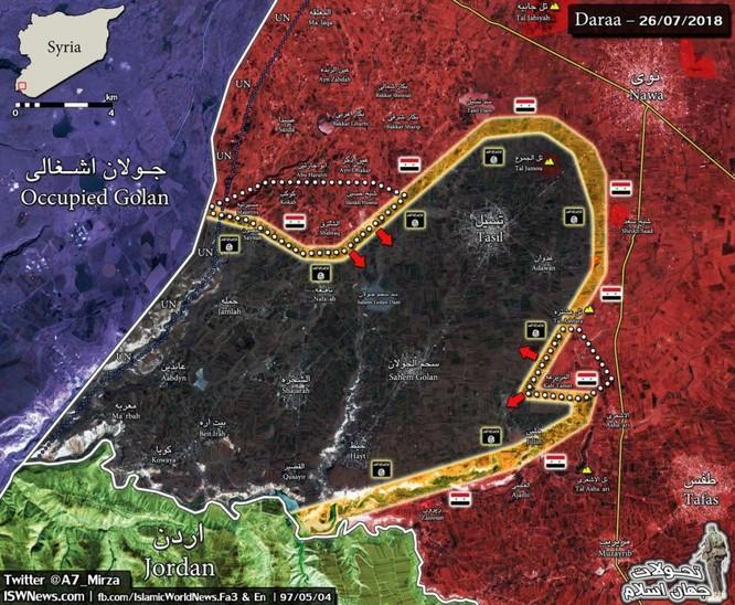 """""""Hổ Syria"""" nghiền nát địch, chiếm hàng chục cứ địa thánh chiến trong 24 giờ ảnh 1"""