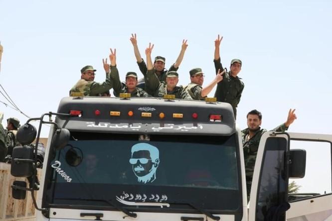 """""""Hổ Syria"""" ồ ạt xung trận diệt hơn 130 tay súng IS tại Daraa ảnh 6"""