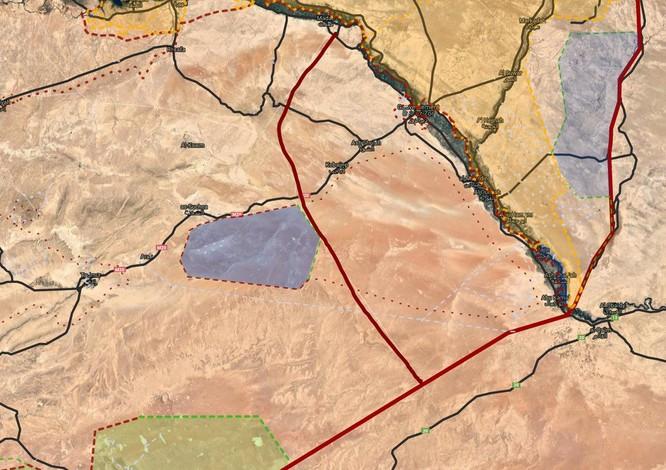 IS bất ngờ tấn công quân đội Syria, Mỹ án binh bất động ở Deir Ezzor ảnh 1