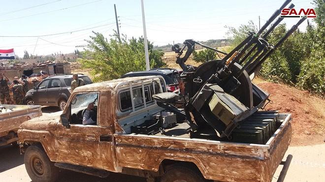 Quân đội Syria chiếm giữ nhiều vũ khí, giải phóng hàng loạt cứ địa thánh chiến ở Quneitra ảnh 4