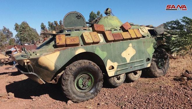 Quân đội Syria chiếm giữ nhiều vũ khí, giải phóng hàng loạt cứ địa thánh chiến ở Quneitra ảnh 3