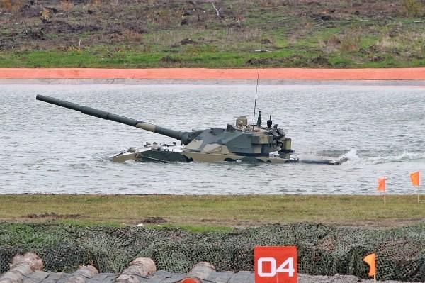 """""""Sát thủ"""" Nga này có thể thay thế xe tăng bơi huyền thoại PT- 76 Việt Nam ảnh 3"""