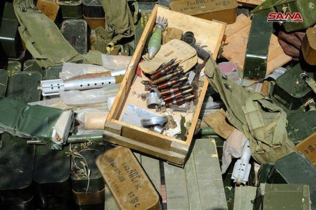 Quân đội Syria chiếm lượng vũ khí khổng lồ của IS tại chiến địa Daraa ảnh 2