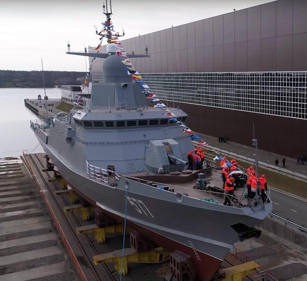"""Nga muốn Việt Nam mua chiến hạm mang """"sát thủ"""" Kalibr ảnh 1"""