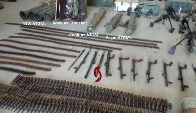 Thánh chiến đại bại, quân đội Syria chiếm giữ tên lửa TOW Mỹ ở Quneitra ảnh 1
