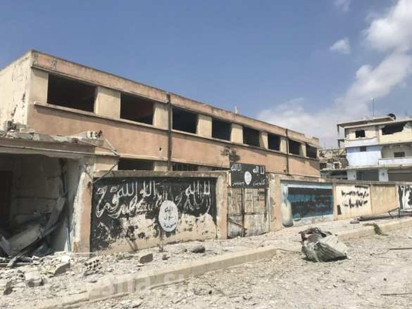 Trận đánh cuối cùng liên quân Nga-Syria kết liễu IS tại ngã ba biên giới ảnh 2