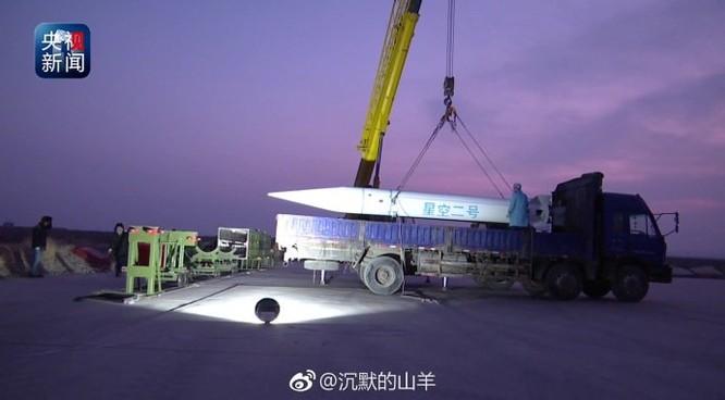 Không chịu kém cạnh Nga, Mỹ, Trung Quốc phóng tên lửa siêu âm ảnh 1