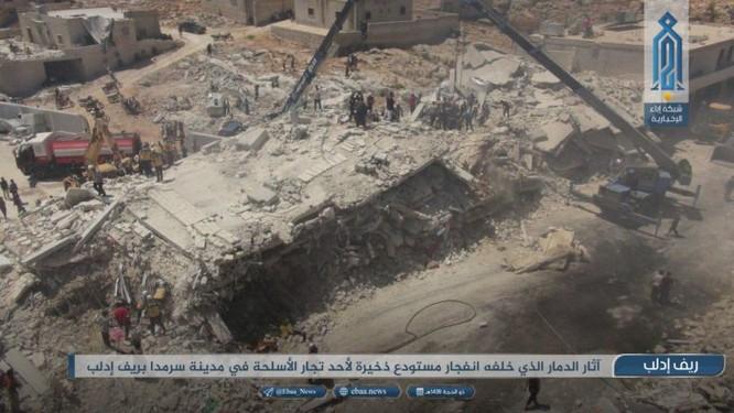Nổ kho vũ khí khủng tại Syria, hàng chục người chết ảnh 1