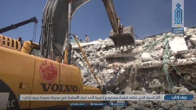 Nổ kho vũ khí khủng tại Syria, hàng chục người chết ảnh 2