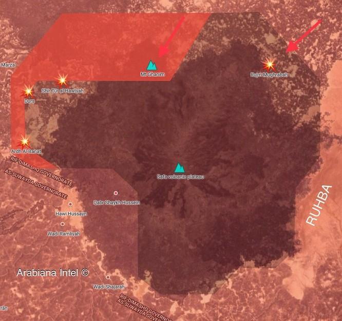 Quân đội Syria truy diệt IS trên sa mạc Sweida, chuẩn bị kết thúc chiến dịch ảnh 1