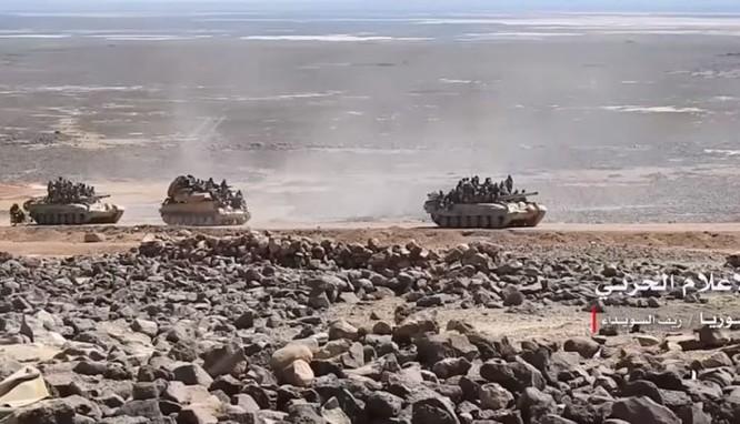 Quân đội Syria truy diệt IS trên sa mạc Sweida, chuẩn bị kết thúc chiến dịch ảnh 2