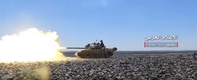 Quân đội Syria truy diệt IS trên sa mạc Sweida, chuẩn bị kết thúc chiến dịch ảnh 4