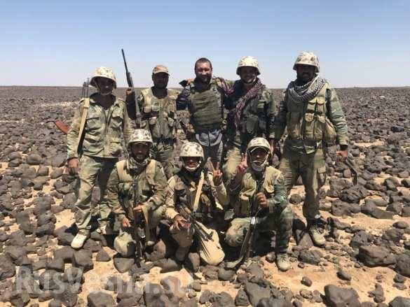 Quân đội Syria siết chặt vòng vây, quyết diệt sạch tay súng IS ở sa mạc đen ảnh 1