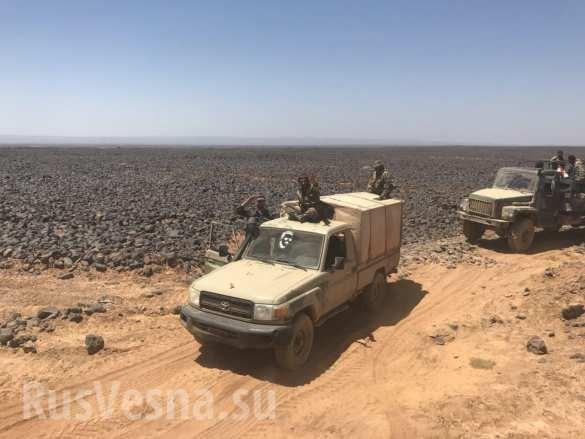 Quân đội Syria siết chặt vòng vây, quyết diệt sạch tay súng IS ở sa mạc đen ảnh 4