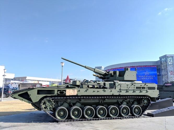 Nga hồi sinh pháo phòng không danh tiếng Việt Nam 57 mm trên thân xe siêu hiện đại Armata ảnh 3