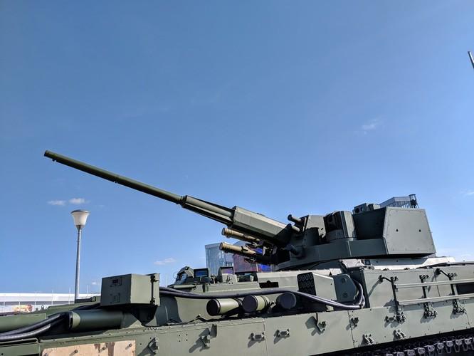 Nga hồi sinh pháo phòng không danh tiếng Việt Nam 57 mm trên thân xe siêu hiện đại Armata ảnh 5