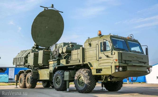 Sốt ruột trước Nga, quân Mỹ thử xe tác chiến điện tử EWTV ảnh 1
