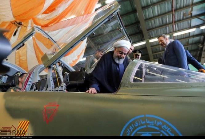 Ngạc nhiên Iran trình làng máy bay tiêm kích sản xuất trong nước ảnh 2