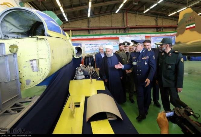 Ngạc nhiên Iran trình làng máy bay tiêm kích sản xuất trong nước ảnh 4