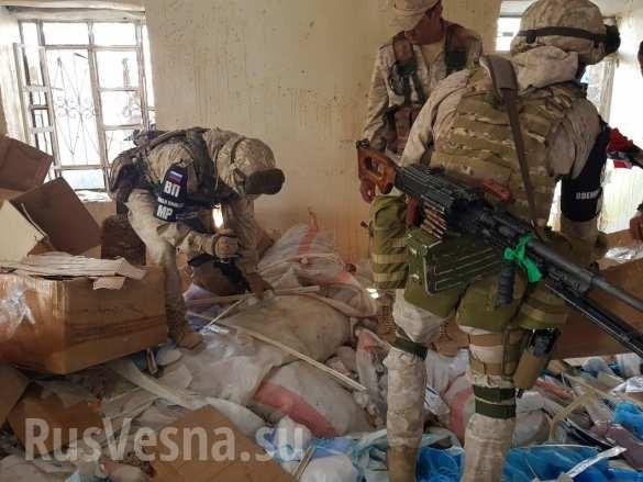 """Quân đội Syria chiếm bệnh viện thánh chiến, lộ mặt thế lực hỗ trợ các nhóm """"nổi dậy"""" chống Damascus ảnh 13"""
