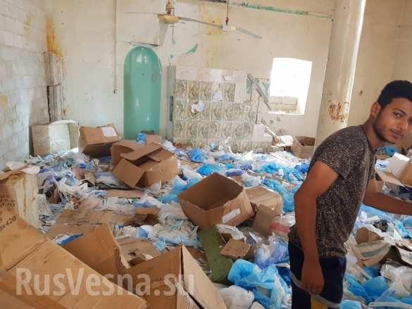 """Quân đội Syria chiếm bệnh viện thánh chiến, lộ mặt thế lực hỗ trợ các nhóm """"nổi dậy"""" chống Damascus ảnh 15"""