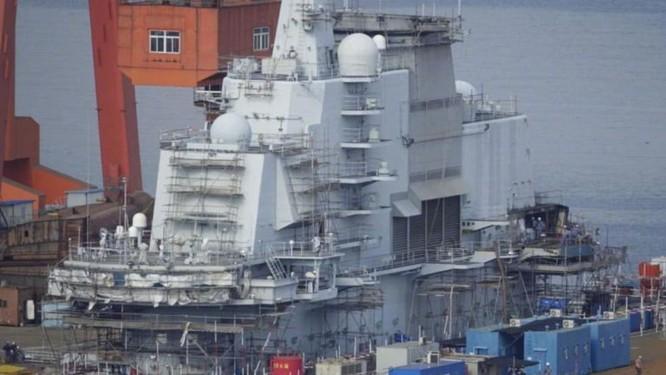 Trung Quốc nâng cấp tàu sân bay Liêu Ninh, chuẩn bị đối đầu Mỹ ảnh 1