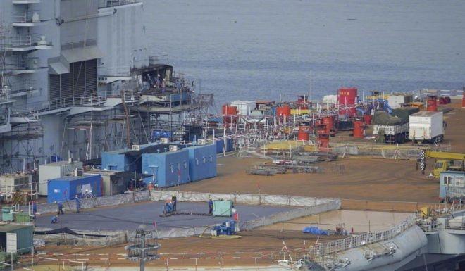 Trung Quốc nâng cấp tàu sân bay Liêu Ninh, chuẩn bị đối đầu Mỹ ảnh 3