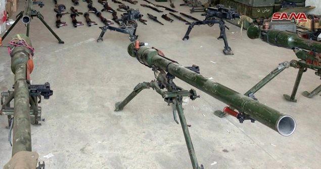 Quân cảnh Syria chiếm thêm kho vũ khí thánh chiến khủng ở Quneitra ảnh 2