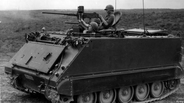 Xe thiết giáp M-113 từ Việt Nam được robot hóa thành cỗ máy chiến đấu ảnh 1