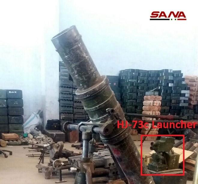 Quân đội Syria phát hiện kho vũ khí phương Tây của phe thánh chiến ở Qunetra ảnh 2