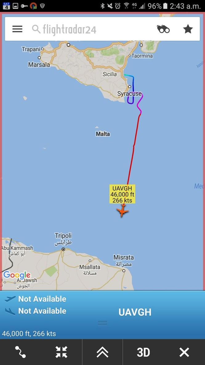 """Nga ra tay hạ """"diều hâu"""" RQ-4 Global Hawk Mỹ trên biển Tây Ban Nha? ảnh 4"""
