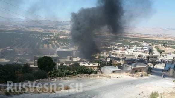 Chảo lửa Idlib: Nga - Syria khai hỏa dữ dội triệt hạ sào huyệt khủng bố ảnh 7