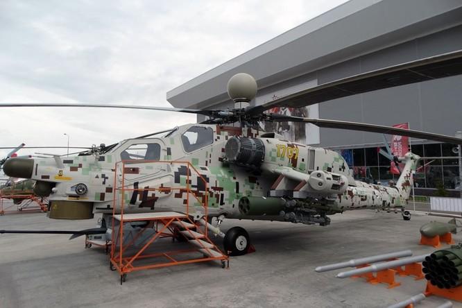 """""""Cá sấu"""" Ка-52 và """"thợ săn đêm"""" Mi-28NМ Nga sẽ phóng và điều khiển các máy bay không người lái ảnh 2"""