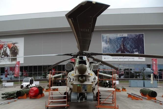 """""""Cá sấu"""" Ка-52 và """"thợ săn đêm"""" Mi-28NМ Nga sẽ phóng và điều khiển các máy bay không người lái ảnh 1"""