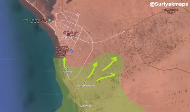 Quân Ả rập Xê út tấn công gần cảng biển, Houthi nã pháo diệt lính liên minh vùng Vịnh ảnh 1