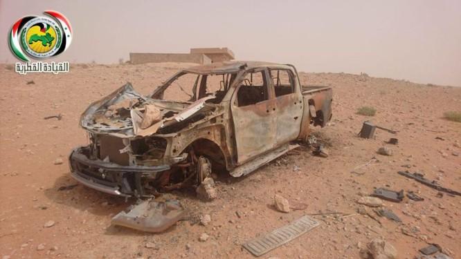 Quân đội Syria ác chiến IS tử thủ trên sa mạc tỉnh Homs – Deir Ezzor ảnh 2