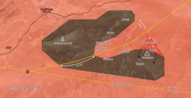 Quân đội Syria ác chiến IS tử thủ trên sa mạc tỉnh Homs – Deir Ezzor ảnh 5