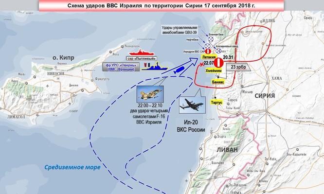 """Israel """"tung hỏa mù"""", S-200 Syria khai hỏa bắn hạ máy bay Nga ảnh 1"""
