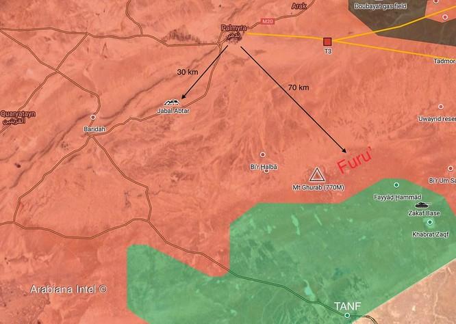 Quân tinh nhuệ Syria đánh tan IS phản công, diệt nhiều tay súng khủng bố ở sa mạc tỉnh Homs ảnh 2