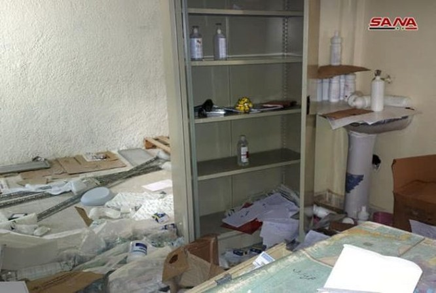Quân đội Syria chiếm bệnh viện dã chiến thánh chiến, bắt sống 7 tay súng IS trên sa mạc Homs ảnh 1