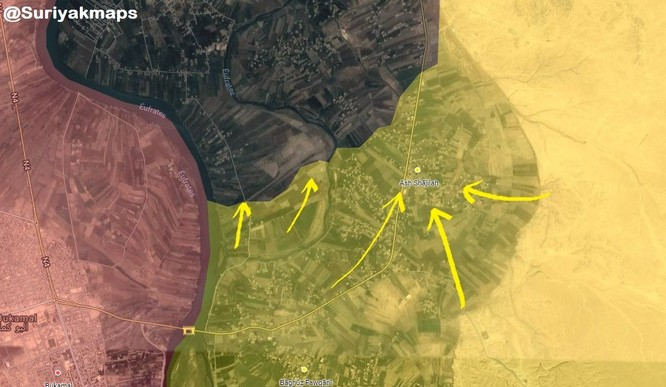 Chiến sự Syria: SDF đè bẹp IS chiếm cứ địa trong thung lũng Euphrates, Deir Ezzor ảnh 1