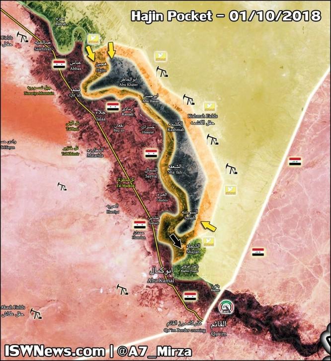 Chiến sự Syria: SDF chiếm cứ địa IS, diệt 75 phiến quân tại đông Euphrates ảnh 2
