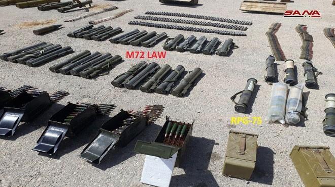 Quân đội Syria chiếm lượng vũ khí lớn của khủng bố tại tử địa Deir Ezzor ảnh 1