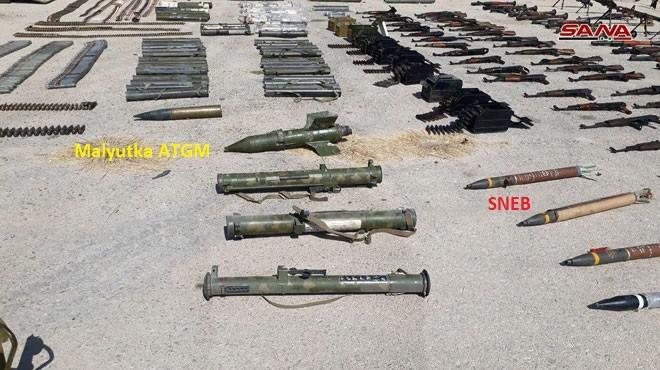 Quân đội Syria chiếm lượng vũ khí lớn của khủng bố tại tử địa Deir Ezzor ảnh 2